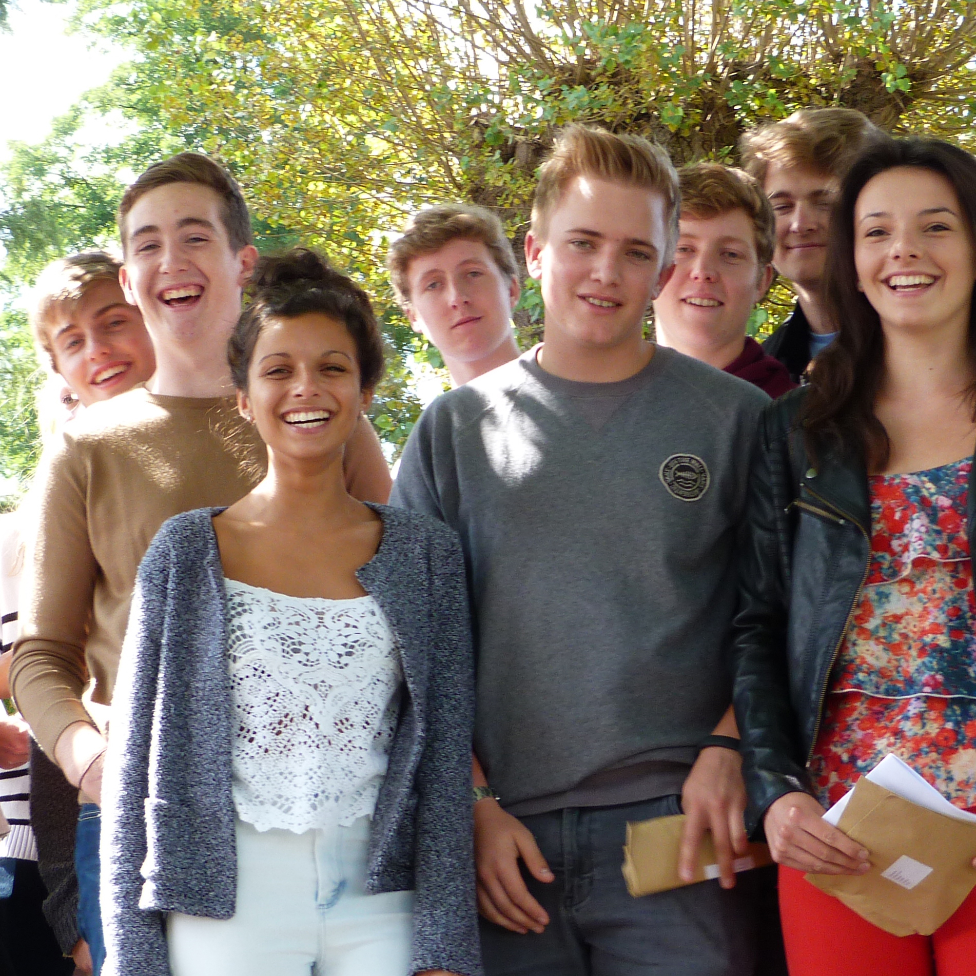 Wrekin pupils celebrate A level results