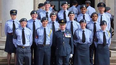 No Winging it for Ben at Cranwell