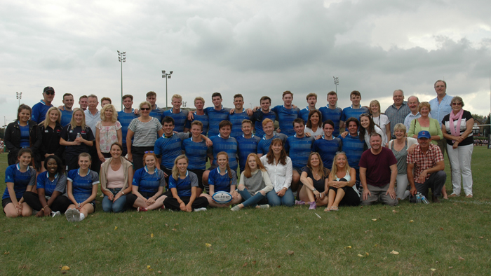 OWA Rugby Squads and Supporters 2016